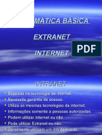 06 Informática Básica 06 - Intranet e Extranet