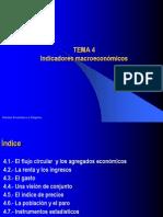 CLASE  Indicadores macroeconómicos