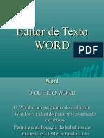 Editor de Textos Word
