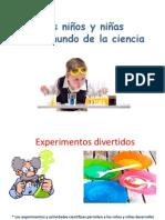 Los niños y el mundo de la ciencia