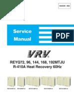 VRV Heat Recovery Service Manual - SiUS39-602 - Daikin