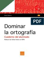 Dominar La Ortografia Cuaderno Del Alumno