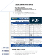 2014 VGT Majors Information