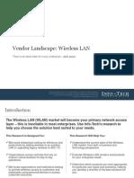 Vendor Landscape - Wireless LAN