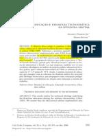 EDUCAÇÃO E IDEOLOGIA TECNOCRÁTICA