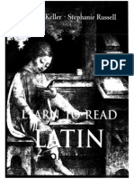 37 Learn to Read Latin Workbook