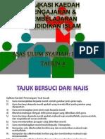 Aplikasi Kaedah Pengajaran & Pembelajaran Pendidikan Islam Tahun 4