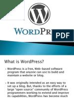 WordPress Presentation Mit
