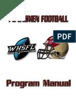 2013 Program Manual