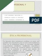 Diapositivas ética profesional y plagio