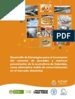 Desarrollo Estrategias Incremento Consumo Pescados y Mariscos de La Acuicultura de Colombia-2013