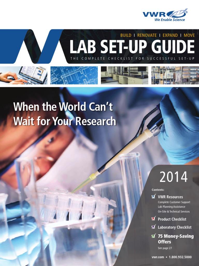VWR 2014 Lab Set-Up Guide   High Performance Liquid