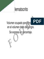 HTO Liquidos Corporales CT8