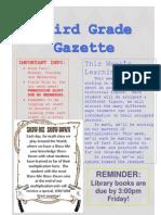 fdfw newsletter