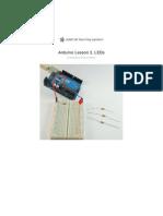 Adafruit Arduino Lesson 2 Leds