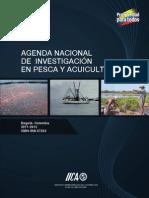 Agenda nacional de investigación en pesca y acuicultura-Colombia 2011-2012