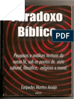 Paradoxo Bíblico - Parte I (Eurípedes Martins Araújo)