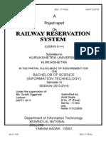 Railway Theory