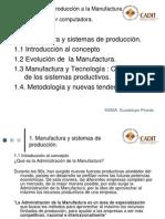 Unidad 1 Manufactura y Sistemas de Produccion 21AG07