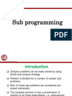 Fortran Subprogramming