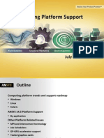 Platform Support Ansys 14.5 Detailed Summary