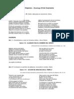 I Vísperas - Domingo III de Cuaresma Ciclo A