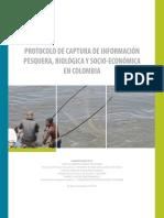 Protocolo de captura de informacion pesquera, biológica y socio‐económica en Colombia-2011