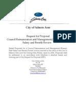 RFP - Council-Management Review