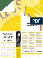 Academic Calendar 13 14