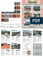 Multiline-stone Coated Roofing