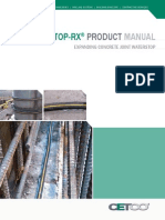 Waterstop-RX Product Manual