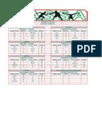 copy of u14a fixtures