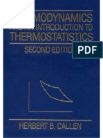 H.B.callen Thermodynamics