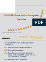 EVOLIUM Base Station Subsystem Description