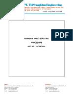 Abrasive Sand-blasting Procedure.pdf