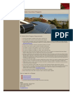 MVU Solar Incentive Program