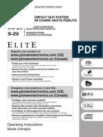 Pioneer Elite Xz9