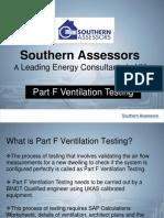 Part F Ventilation Testing