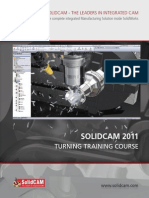 SolidCAM 2011 Turning Training Course