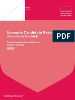 8693 english language example candidate responses booklet 20111
