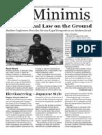 MLS De Minimis Vol. 4 Issue 8