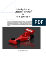Autodesk Inventor F1 in Schools Print Version