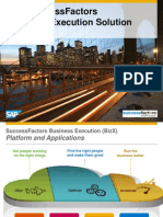 SAP SuccessFactors Bizx Overview