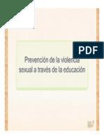 CONF II conf 2mzo 2014 Prevención Violencia Sexual
