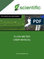 WS131 Flow Meter User Manual