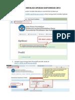 Tutorial Instalasi Aplikasi Dapodikdas 2013