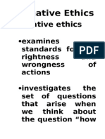 17606100 Normative Ethics