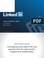 Luke Davies GoToMeeting How to Use Linkedin for Sales Slides