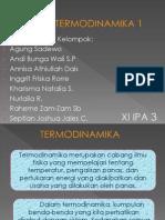 Fisika Hukum Termodinamika 1
