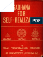 Sadhana for Self-Realization - Swami Pratyagatmananda Saraswati, Arthur Avalon